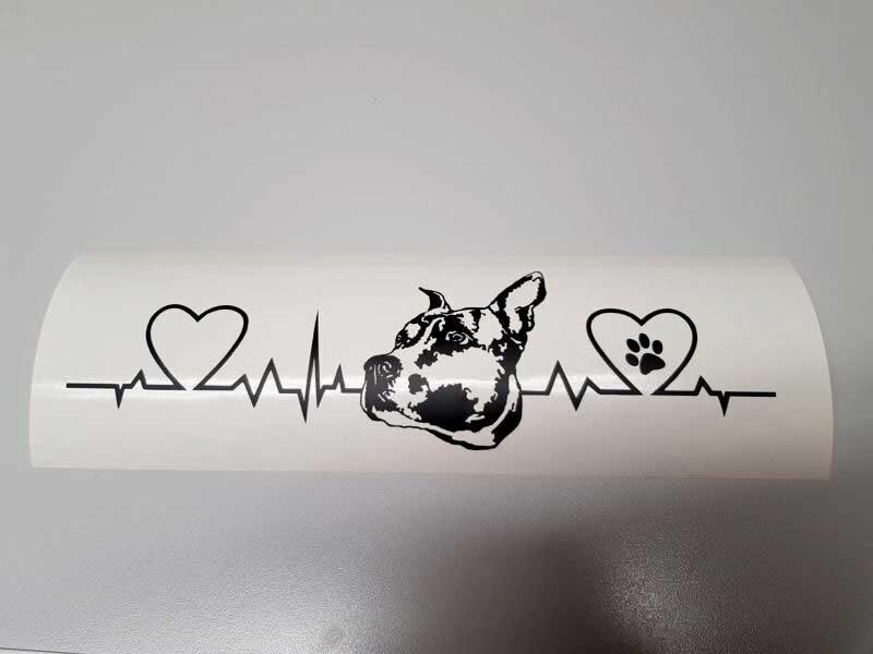 j cut aufkleber gallerie I love dogs 1 800x600 - Aufkleber