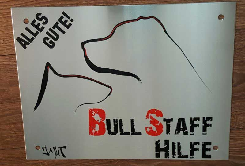 j cut schillder gallerie bull staff hilfe 800x544 - Schilder